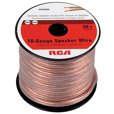 RCA 50' 16-guage Speaker Wire