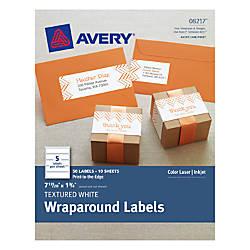 Avery Premium Address Labels 8217 Wraparound