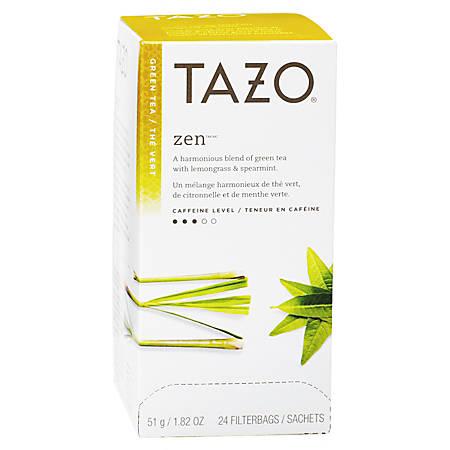Tazo® Zen Tea, Box Of 24