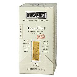 Tazo Organic Chai Tea Bags Box