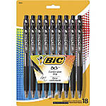 BIC BU3 Grip RT Ball Pens