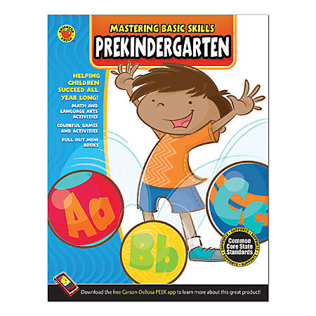 Brighter Child Mastering Basic Skills, Pre-K