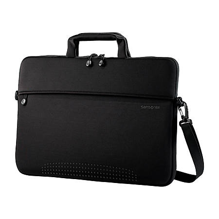 "Samsonite® Laptop Shuttle, 10.75"" x 15.8"" x 1"", Black"