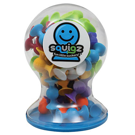 Fat Brain Toy Company Squigz Connector Set, Deluxe, Pre-K - Grade 8, Set Of 50