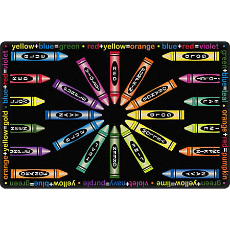 """Flagship Carpets All Mixed Up Area Rug, 7' 6"""" x 12', Black"""