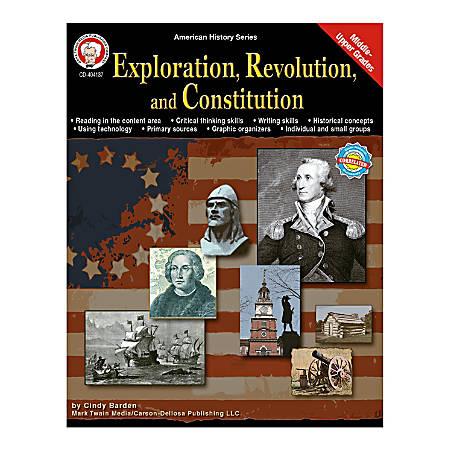 Mark Twain Exploration Revolution And Constitution, Grades 6 - 12