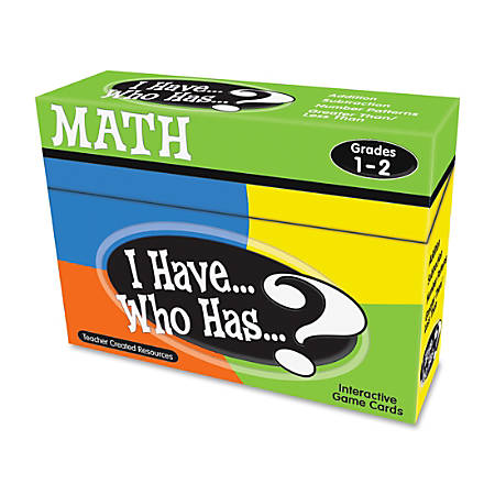 Teacher Created Resources I Have Who Has Math Game, Grades 1-2