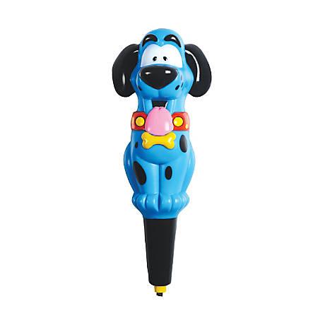 "Educational Insights Hot Dots® Jr. Ace the Talking, Teaching Dog® Pen, 6"", Black/Blue, Pre-k - Grade 2"