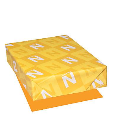 "Astrobrights® Color Paper, 8 1/2"" x 11"", FSC® Certified, Cosmic Orange, Pack of 500 Sheets"