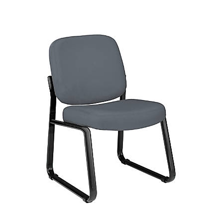 OFM Guest Reception Chair, Gray/Black