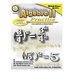 Mark Twain Algebra II Practice Book