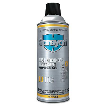 Sprayon® Rustbreaker™ Penetrant, 10 Oz Aerosol Can