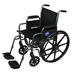 Medline K1 Basic Extra Wide Wheelchair