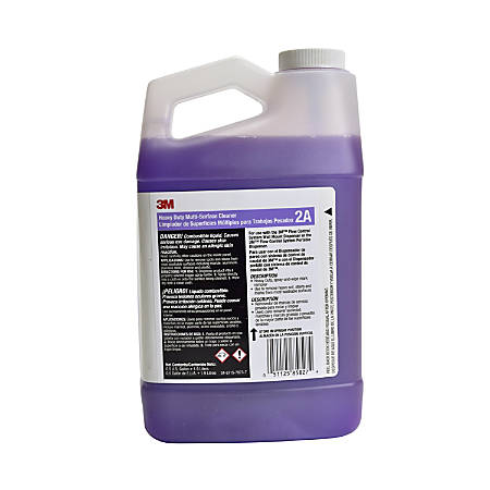 3M™ Flow Control 2A Heavy-Duty Multi-Surface Cleaner Concentrate, 64 Oz