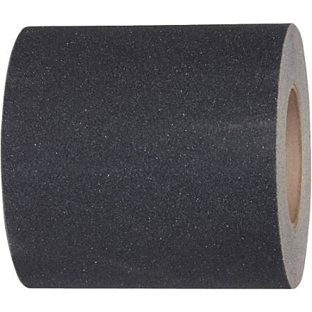 "Tape Logic® Heavy-Duty Antislip Tape, 3"" Core, 12"" x 60', Black"