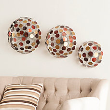Southern Enterprises Jessalyn Metal Sphere Wall