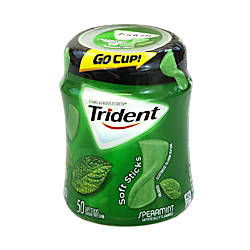 Trident gum Sugar Free Soft Sticks