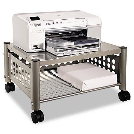 Vertiflex™ Underdesk Machine Stand, Matte Gray