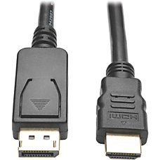 Tripp Lite DisplayPort to HDMI Adapter