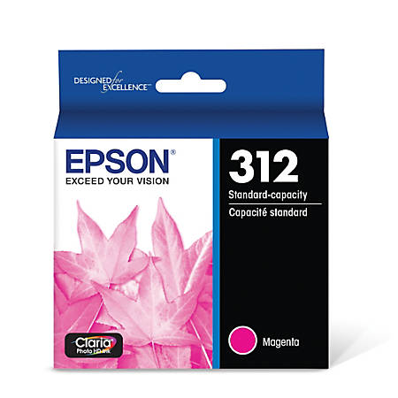 Epson® Claria Photo Hi-Definition T312320-S Magenta Ink Cartridge
