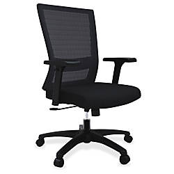 Lorell Mesh Mid back Swivel Chair