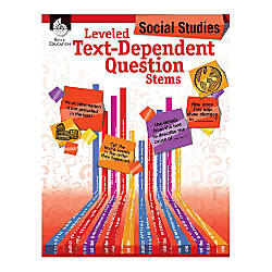 Shell Education Leveled Text Dependent Question