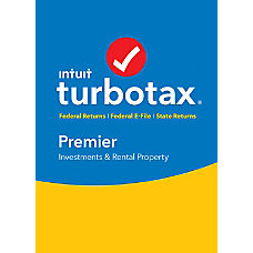 TurboTax Premier Federal E File State