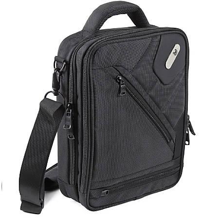 ful Sidecar Nylon Shoulder Messenger Bag, Black