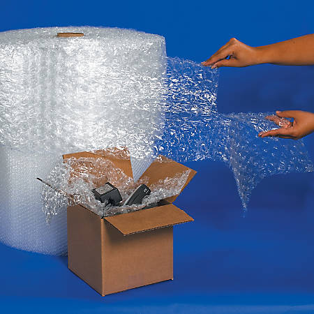 "30% RecycledOffice Depot® Brand Bubble Roll, 5/16"" x 48"" x 188'"