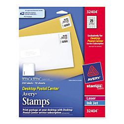 avery stamp labels 25 labels per sheet by office depot officemax
