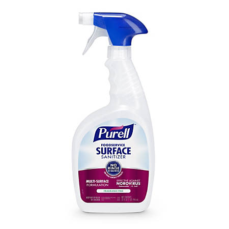 Purell® Food Service Surface Sanitizer, Unscented, 32 Oz