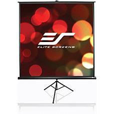 Elite Screens Tripod Portable Manual Pull