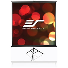 Elite Screens Tripod Portable Manual Pull