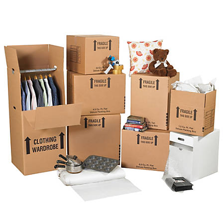Office Depot® Brand Small Home Moving Kit