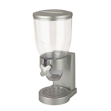 Zevro Indispensable Dispenser, Single, 17.5 Oz, Silver