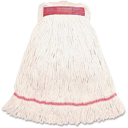 Genuine Joe Narrow Band Large Mophead - Rayon, Cotton