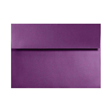"LUX Invitation Envelopes With Moisture Closure, A6, 4 3/4"" x 6 1/2"", Purple Power, Pack Of 1,000"