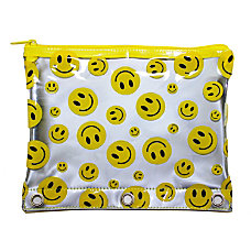 Inkology Smiley Face Pencil Pouches 7