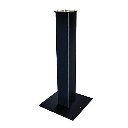 "Mail Boss™ 27"" Surface Mount Mailbox Post, 27""H x 4""W x 4""D, Black"