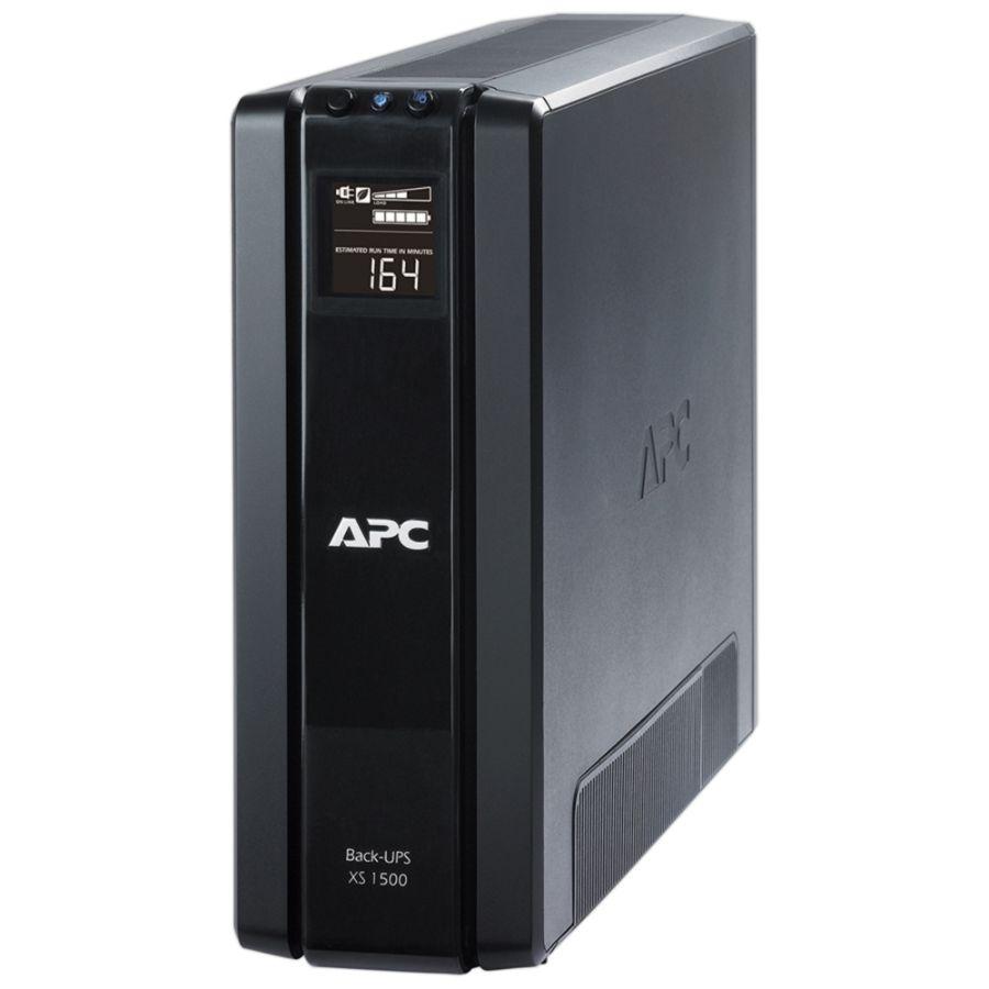 Apc Back Ups Xs Series Battery Backup Bx1500g 1500va865 Watt By