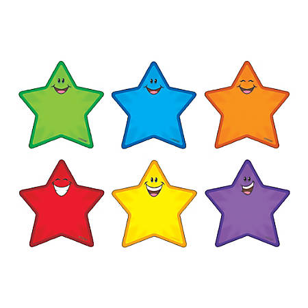 Trend® Classic Accents Variety Pack, Stars, Pack Of 36