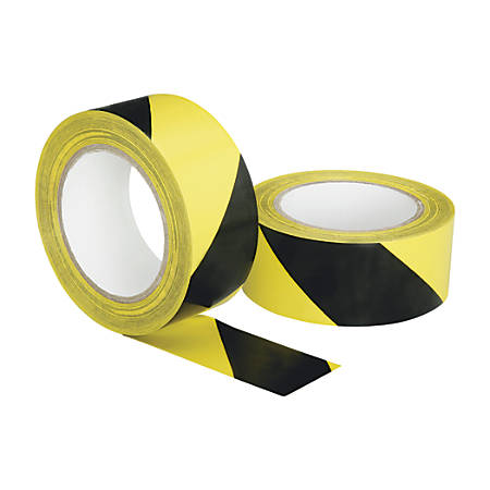 "SKILCRAFT® Floor Safety Marking Tape, 2"" x 108"", Black (AbilityOne 7510-01-617-4251)"