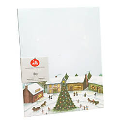 Gartner Studios Stationery Sheets Winter Village