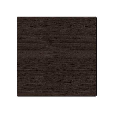 WorkPro® Flex Collection Square Table Top, Espresso