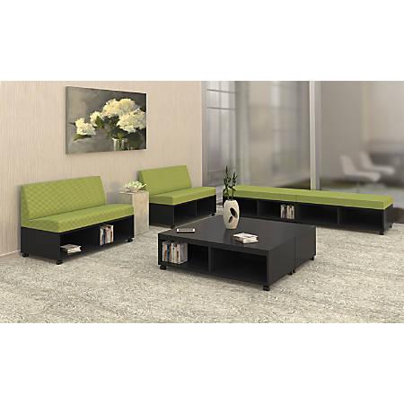 """Mayline® Banca Table/Seat Base, 48""""W, Raven"""