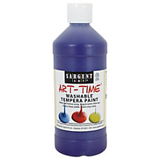 Sargent Art Washable Art Paint 16