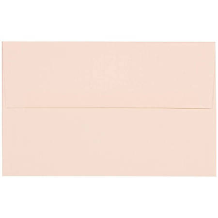 "JAM Paper® Booklet Invitation Envelopes, A10, 6"" x 9 1/2"", Strathmore Bright White, Pack Of 25"