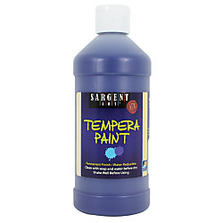 Sargent Art® Tempera Paint, 16 Oz., Blue