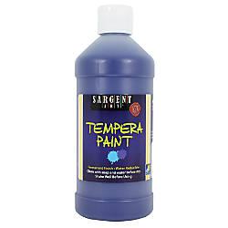 Sargent Art Tempera Paint 16 Oz