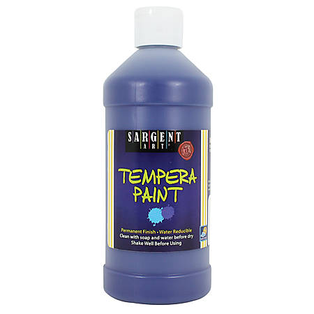 Sargent Art Tempera Paint Review